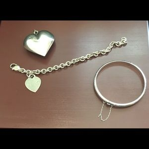 Jewelry - Vintage sterling silver lot